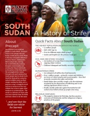South Sudan: A History of Strife | ©Precept Ministries Internat